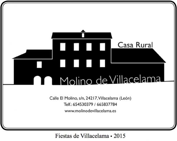 Anuncio Fiestas de Villacelama