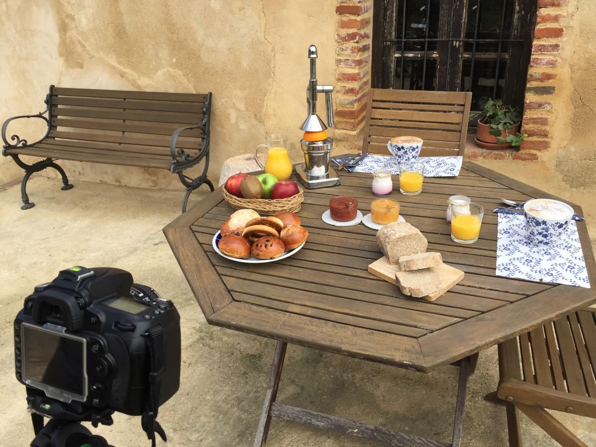 Desayuno en Casa rural
