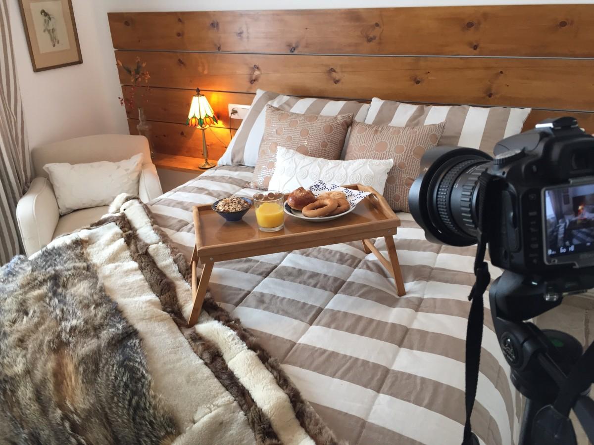 Desayuno en habitación doble