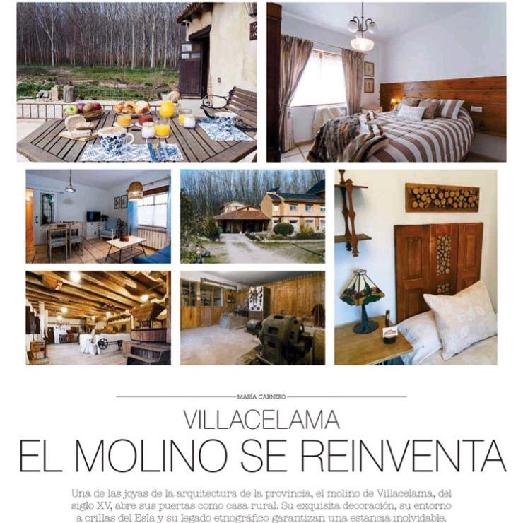 Molino de Villacelama en el Diario de Leon